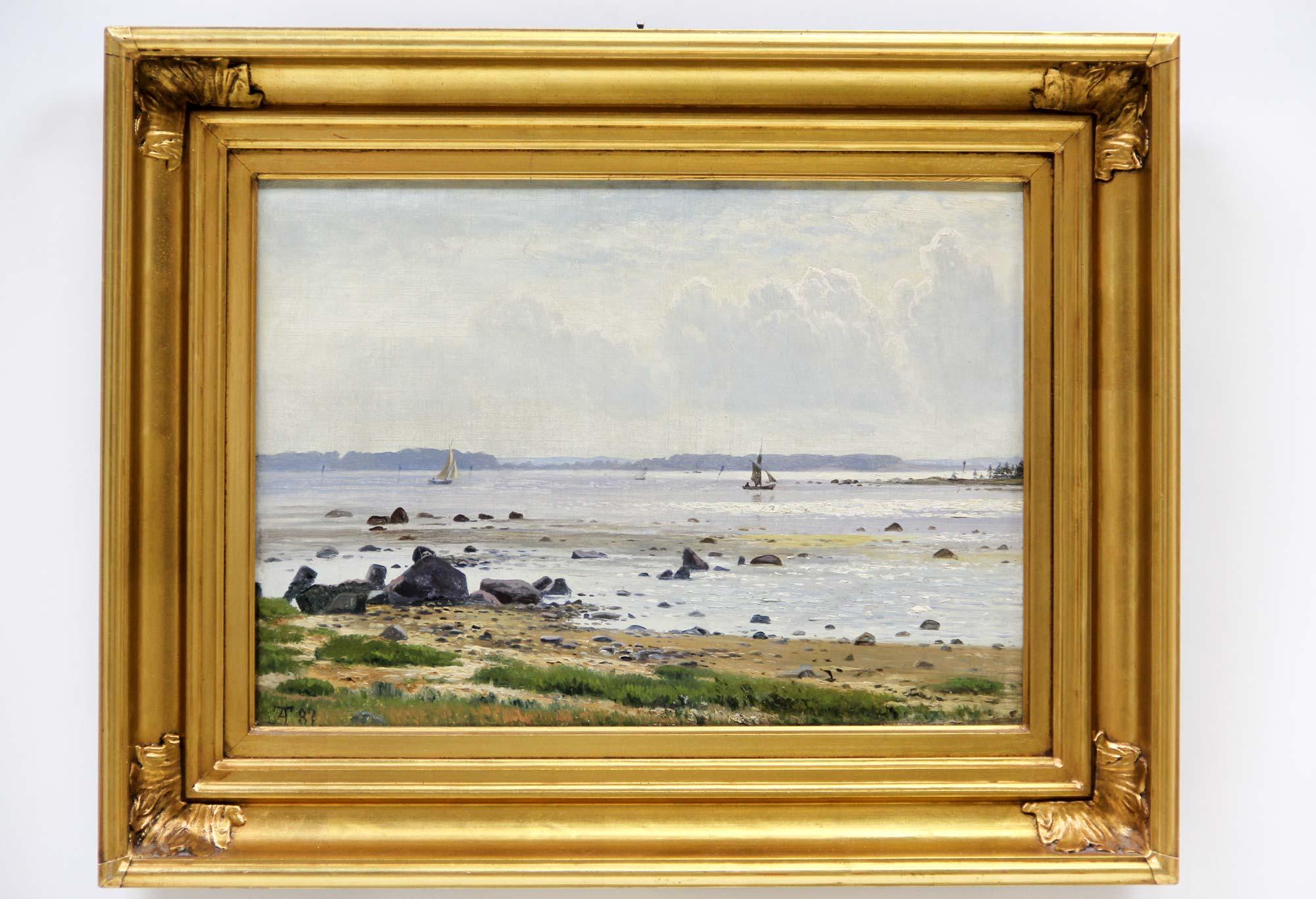 Anton Thorenfeldt, kystparti med skibe